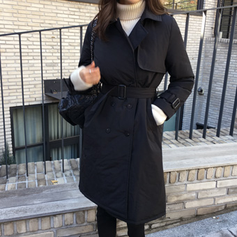 741304 - Padded Trench Coat