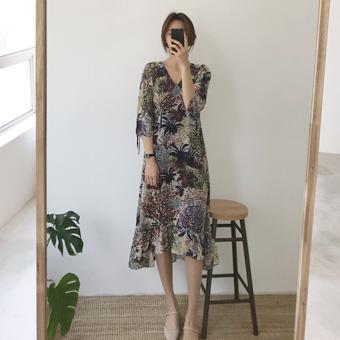 750999 - Cactus flower dress