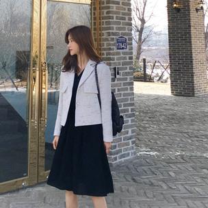 752602 - Pocket tweed jacket