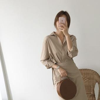 753197 - Whipped shirt dress