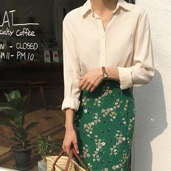 753250 - Pastel silky blouse
