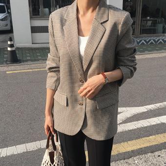 753269 - Karen check jacket