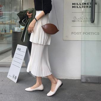 753294 - Pure wrinkle skirt