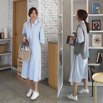 753329 - A must shirt dress