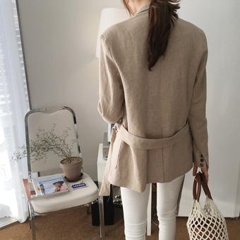 753337 - Cotton linen jacket