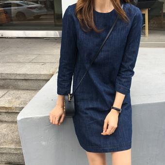 753357 - Ivy denim dress