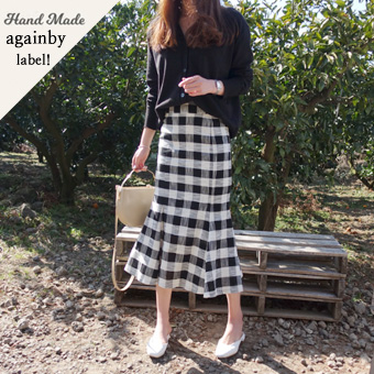 665056 - Weiss agent checked skirt