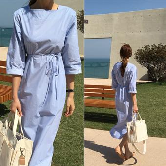 754354 - Square cotton dress