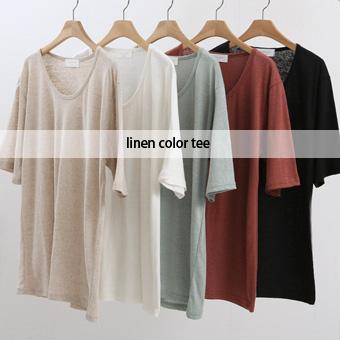 754545 - Yoni Linen T-shirt