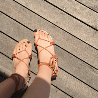 754806 - Brownie strap shoes