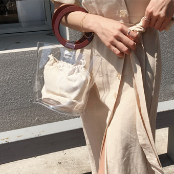754863 - Transparent wood bag