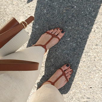 754864 - Nude HSandals shoes