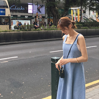 755194 - Lena denim dress