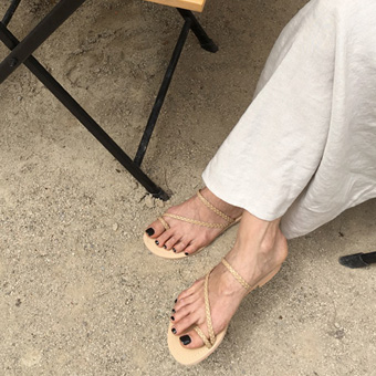 755307 - Twist slipper shoes