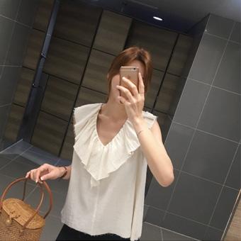 755534 - Picnic ruffle blouse