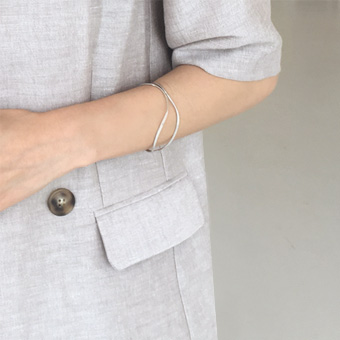 755582 - Meline silver bracelet